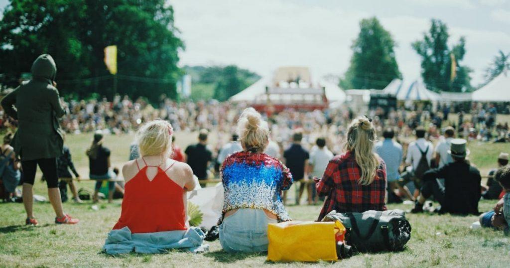 Hair care during a festival